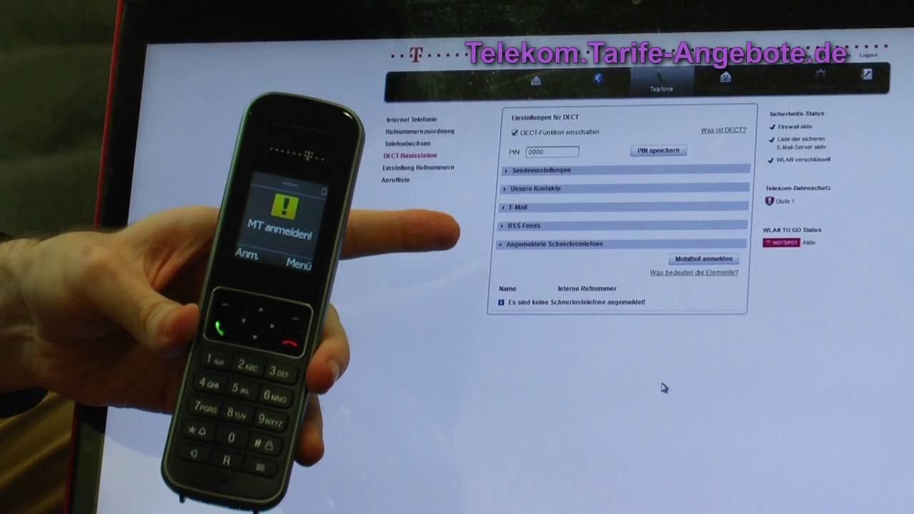 telekom anrufbeantworter einrichten