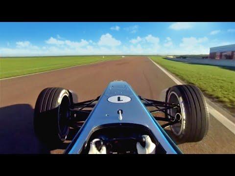 The First Formula E Car - Test Debut