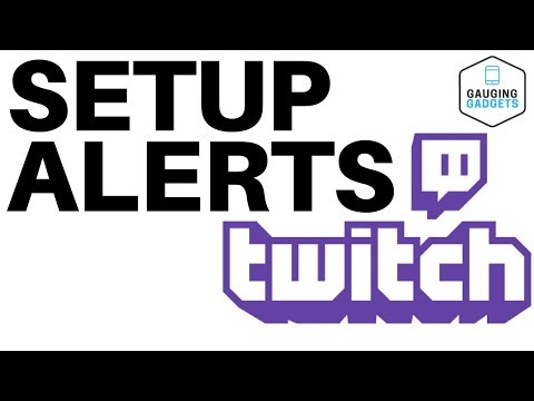 How To Setup Twitch Alerts In OBS - Follower Notifications Tutorial