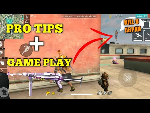 FREE FIRE | HOW TO KILL FULL SQUAD | RANK PRO TIPS AND 16