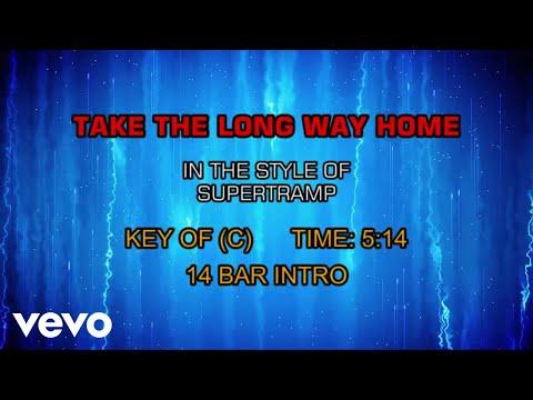 Supertramp - Take The Long Way Home (Karaoke)