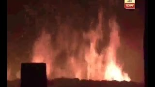 fire at a Edible Oil shop at Barrackpore