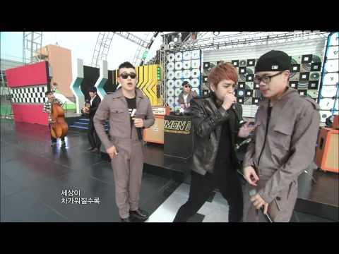 음악중심 - Simon D(feat. Rythm Power) - Cheerz, 사이먼 디 - 짠해, Music Core 20111015