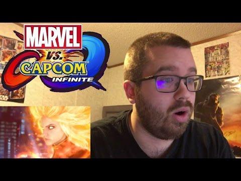Marvel vs. Capcom: Infinite Teaser Reaction!