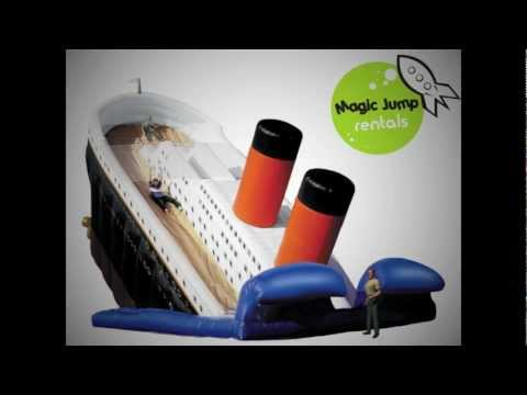 25' Titanic Giant Inflatable Slide Rental