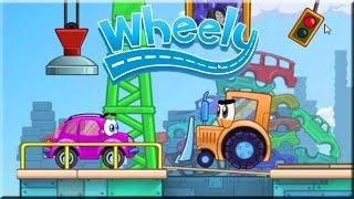 Wheely Game Walkthrough (All Levels)