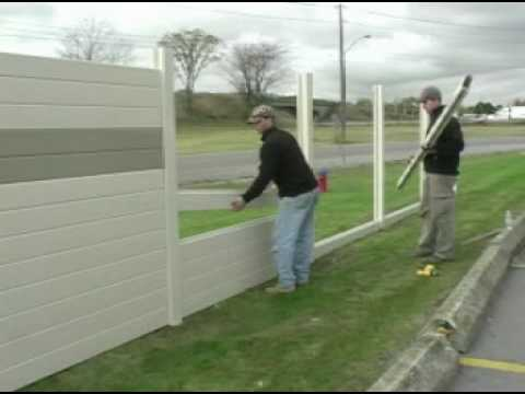 Tuf-Barrier Noise Barrier Wall Install - Residential
