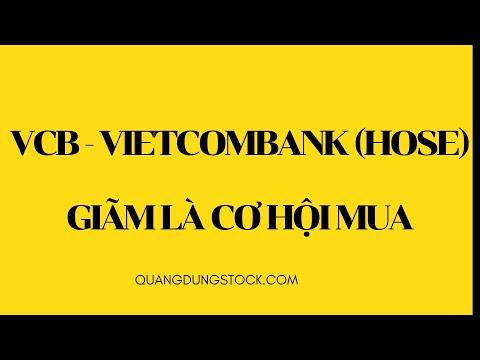CỔ PHIẾU VCB (VIETCOMBANK) - GIÃM LÀ CƠ HỘI MUA
