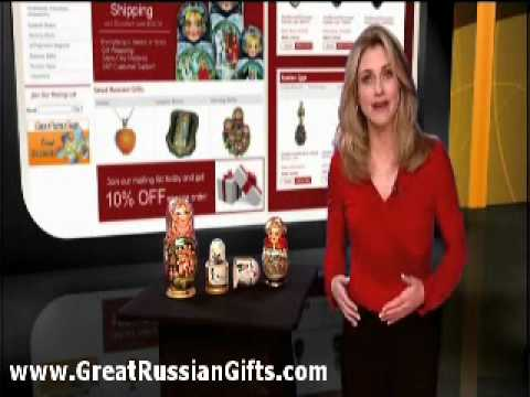 GreatRussianGifts.com Introduction video