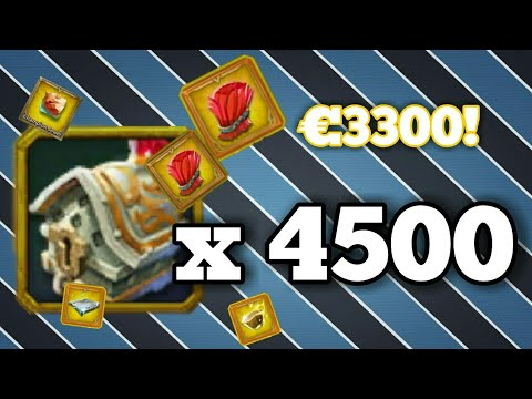 Lords-Mobile | OPENING 4500 CHAMPION CHEST! (€3300) 1K SUBS SPECIAL!