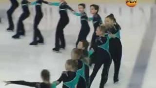 В Йошкар-Оле - чемпионат России по синхронному катанию