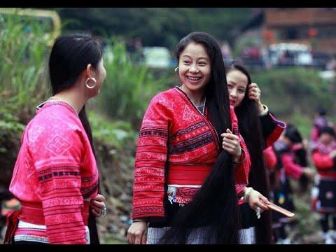 عيد خاص للشعر الطويل في الصين