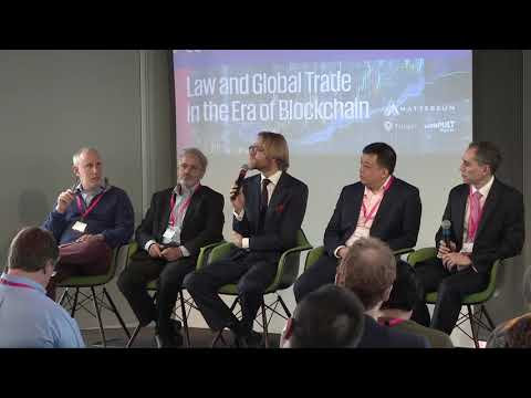 Law and Global Trade in the Era of Blockchain