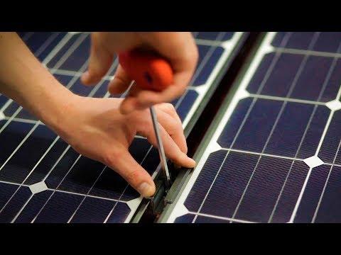 How to install Panasonic HIT photovoltaic modules