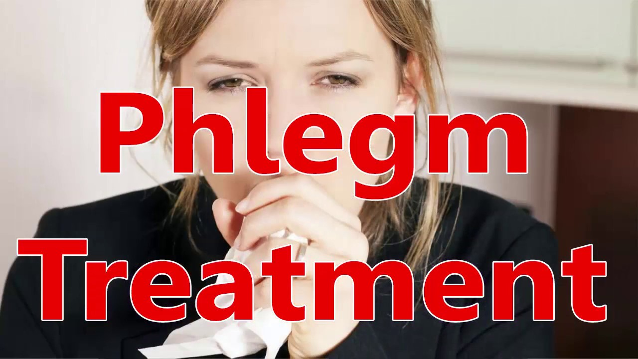 phlegm in lungs how to get rid of