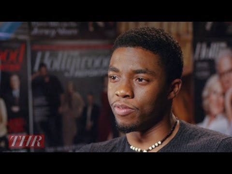 Chadwick Boseman on Portraying Jackie Robinson in '42'