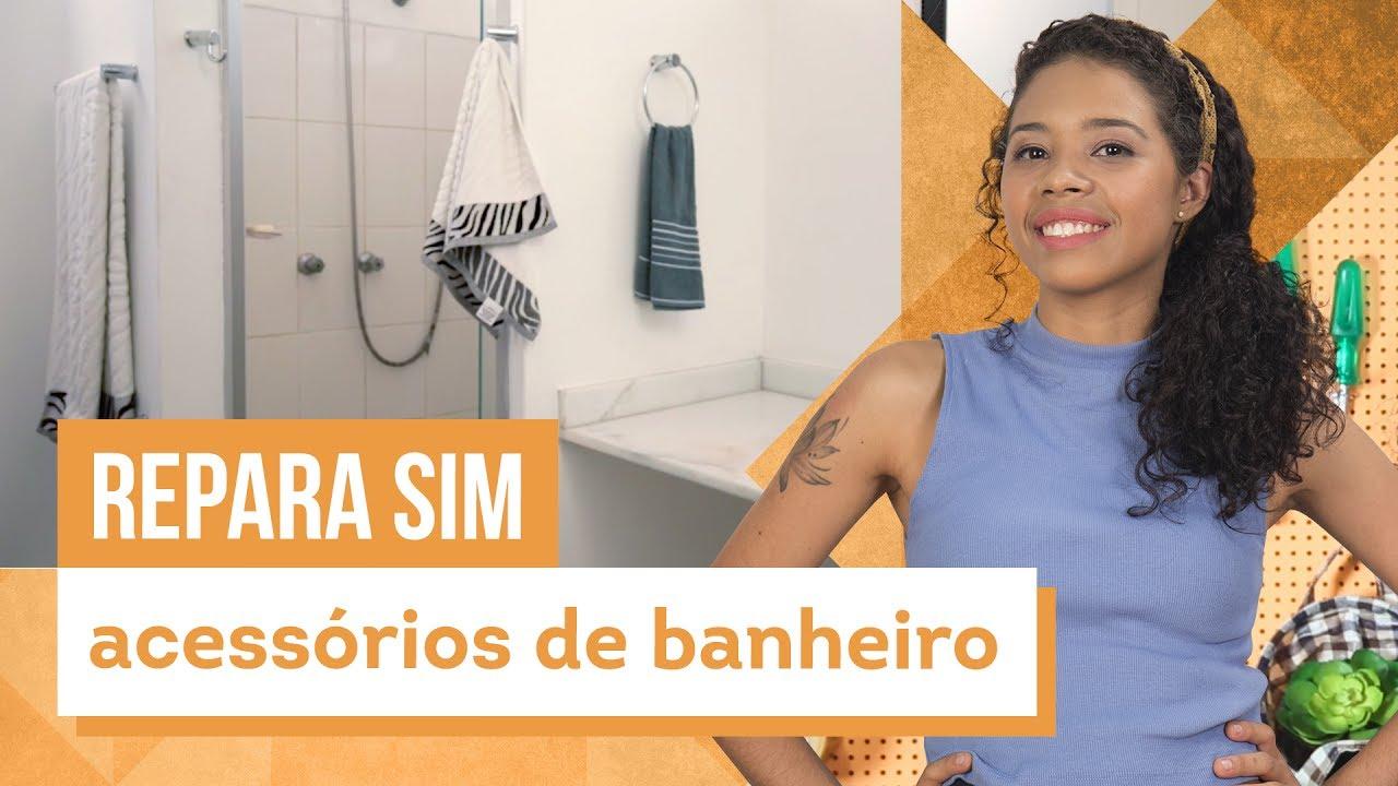 b11b0b904 Como instalar acessórios para banheiro - Aprenda com Paloma Cipriano - CASA  DE VERDADE