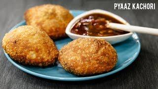 Pyaz Kachori Recipe - Perfect Crispy Aloo Pyaj Rajasthani Kachauri - CookingShooking