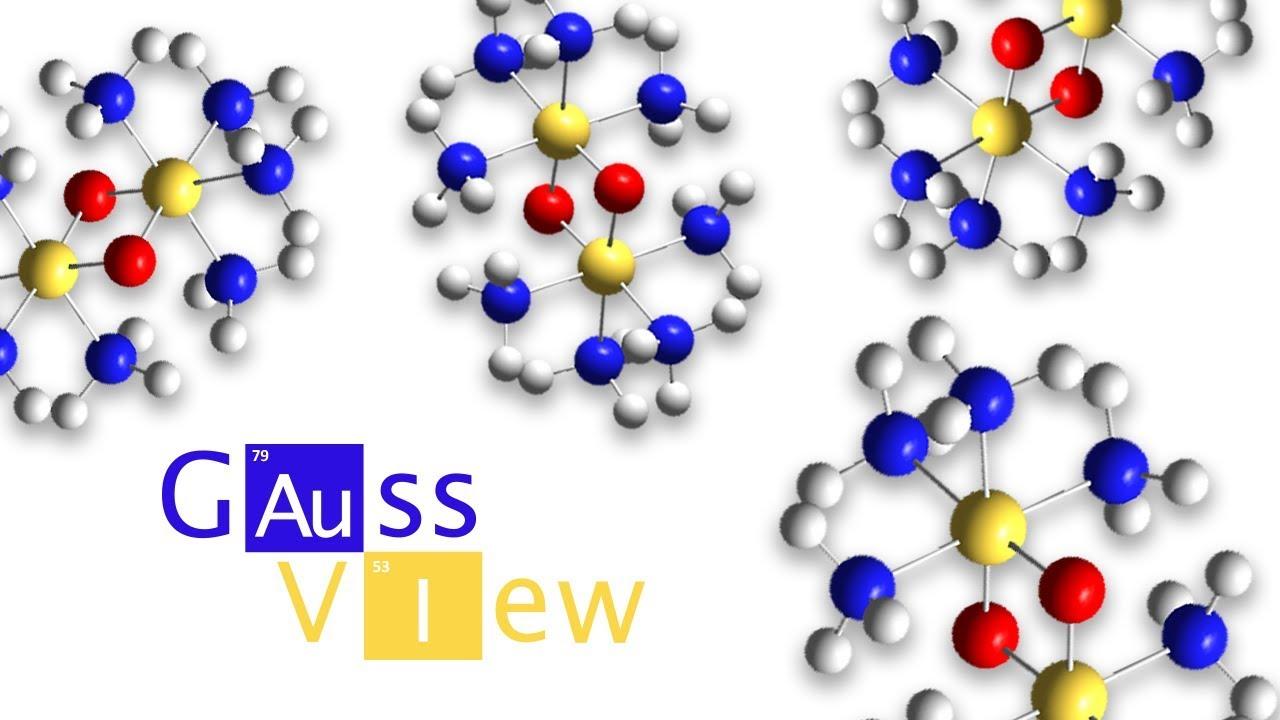 GaussView 6 Tutorial 1: Building Molecules - Gaussian, Inc