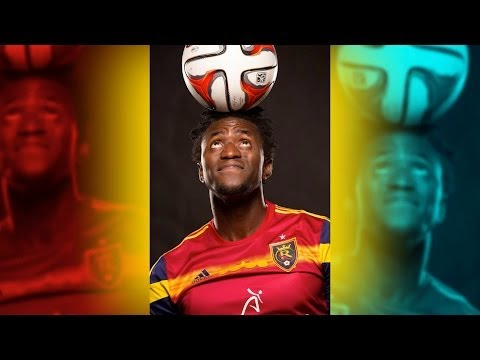 Major League Soccer (RSL) Photo shoot - Behind the Scenes - 2014 MLS, World Cup Players