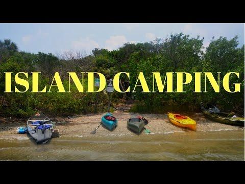 Island Camping (Canaveral National Seashore)