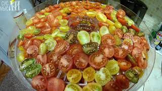 ✅ Сушим на сушилке томаты, кабачки и тыкву