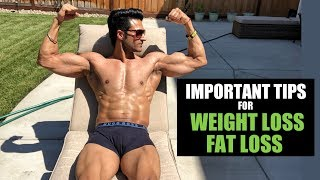Important Tips for FAT LOSS / WEIGHT LOSS by Guru Mann (with PDF)
