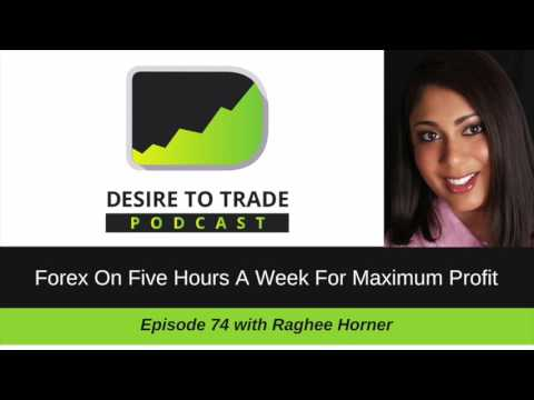 Raghee Horner: Forex On 5 Hours A Week For Maximum Profit |