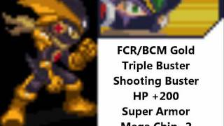 How to Obtain Forte Cross Rockman (BCM) in Double Team DS