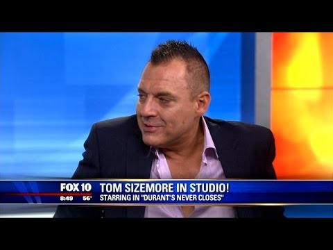 "Tom Sizemore talks about new film ""Durant's Never Closes"""
