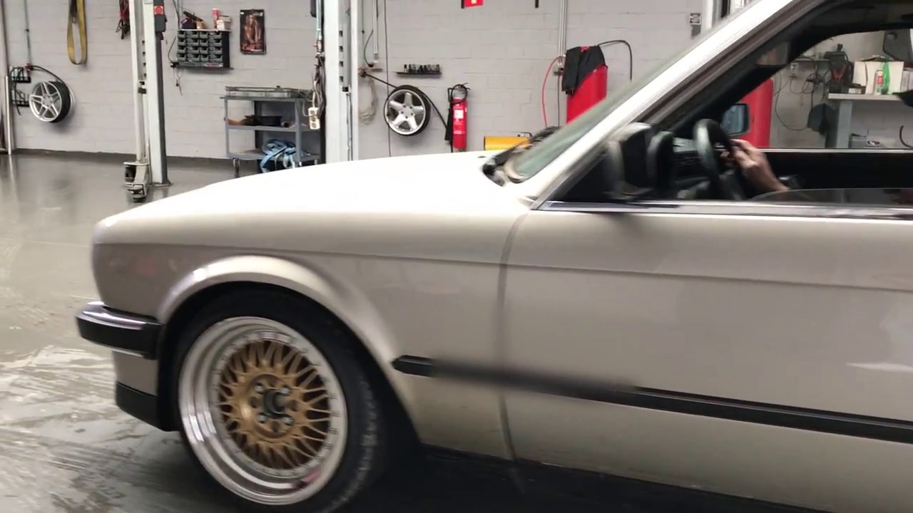 bmw e30 325i with full exhaust system by heinz classic youtube rh youtube com