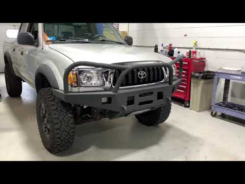 Toyota Tacoma Projector Retrofit Overview