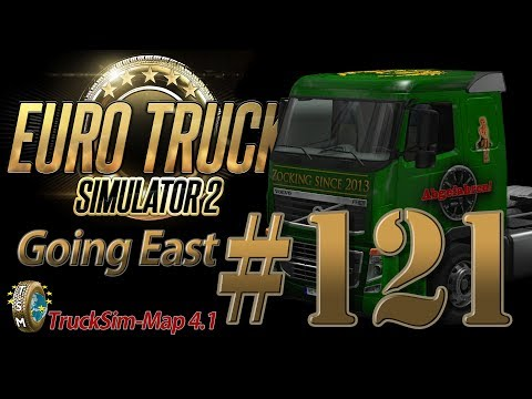 Euro Truck Simulator 2 Going East DLC [HD] ✪ Let's Play #121 |