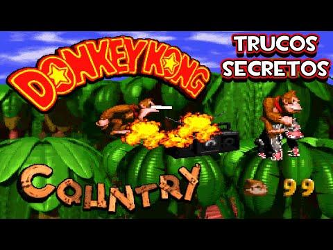 SNES Donkey Kong Country - Trucos Secretos