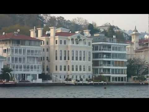 Istanbul, auf dem Bosporus zum Schwarzen Meer