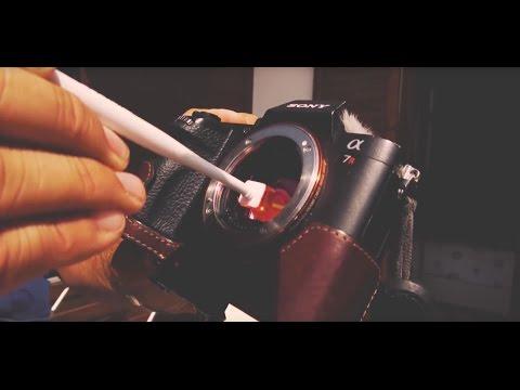 Bloom Vlog: Cleaning the Sony mirrorless sensor