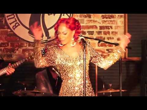 Sylver Logan-Sharp Blues Alley Live Show Opening