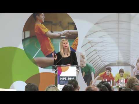 HIPE 2016 Konferencia - Jennie Jordan (Youth Sport Trust) prezentációja