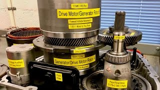 Chevrolet Volt 4ET50 Transaxle Components and Operation (2011-2015)