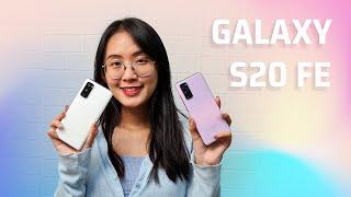 Trải nghiệm các phiên bản màu Samsung Galaxy S20 FE