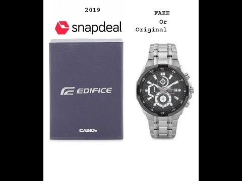 Casio Edifice EX191 | Snapdeal Fake Or Original