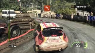 WRC 5 FIA World Rally Championship - Vodafone Rally De Portugal - Gameplay Compilation [1080p60FPS]