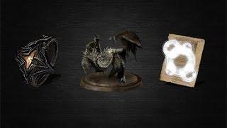 Dark Souls 3 - Кольцо бедствий, большой магический барьер, виверна (моб)