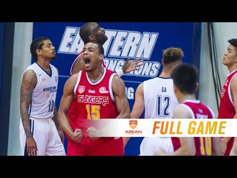 Hong Kong Eastern Long Lions vs. Singapore Slingers | FULL GAME | 2016-2017 ASEAN Basketball League