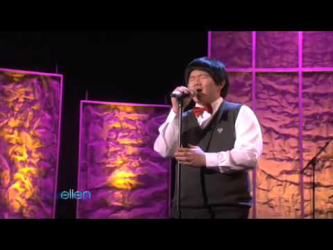 [The Ellen Degeneres Show] - Taiwanese Lin Yu Chun Performs Amazing Grace