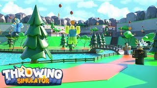 ALL CODES FOR THROWING SIMULATOR!!! [Roblox]