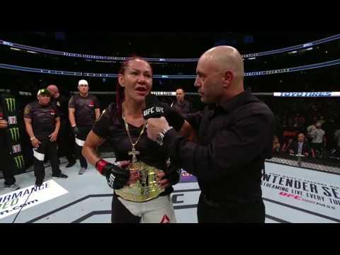 UFC 214: Cris Cyborg Octagon Interview