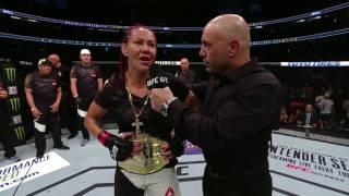 UFC 214: Cris Cyborg Octagon Interview thumbnail