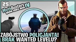 Osamotniony policjant w nocy! Brak Wanted Levelu? - Pogromcy Mitów GTA 4 #25