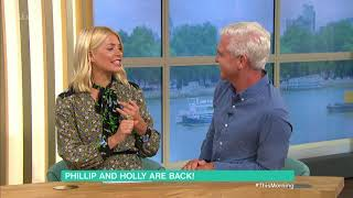 Holly and Phil discuss her presenting on I'm A Celebrity... - 3rd Sept 2018